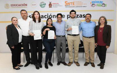 ¡Corre la lista en Sinaloa! Asignan 383 plazas definitivas a maestros de nuevo ingreso