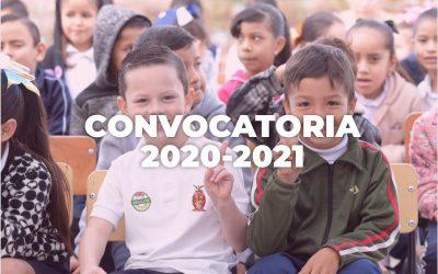 Convocatoria BECASIN 2020-2021