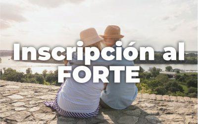 INSCRIPCIÓN DE FORTE