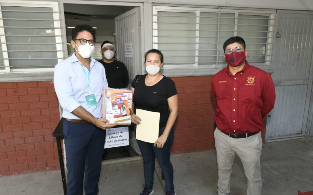 Arranca en Sinaloa la entrega de libros de texto gratuitos.