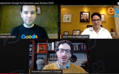 Capacitan SEPyC y Google a docentes en Sinaloa, en el uso de las tecnologías para arranque del Ciclo Escolar