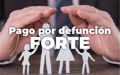 SOLICITUD DE PAGO POR DEFUNCIÓN CORRESPONDIENTE AL FORTE