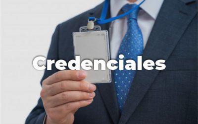CREDENCIALES