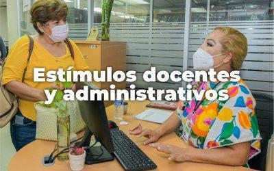ESTÍMULOS DOCENTES Y ADMINISTRATIVOS