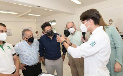 Inauguran laboratorios en Conalep III, con una inversión de 1.5 mdp.