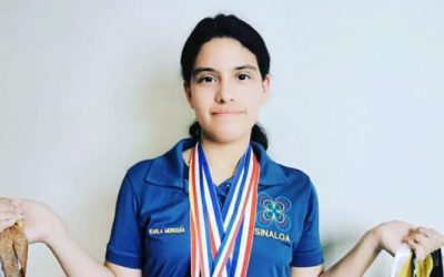 ¡Lo logra de nuevo! Karla Rebeca Munguía gana medalla de oro en olimpiada europea