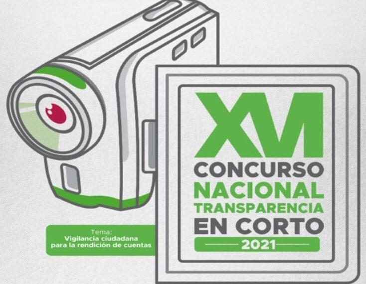 Convocatoria del XVI Concurso Nacional Transparencia en Corto 2021: Vigilancia ciudadana para la rendición de cuentas