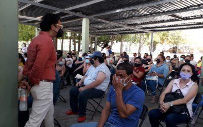 ¡7 de cada 10 trabajadores del sector educativo en Sinaloa ya están vacunados!