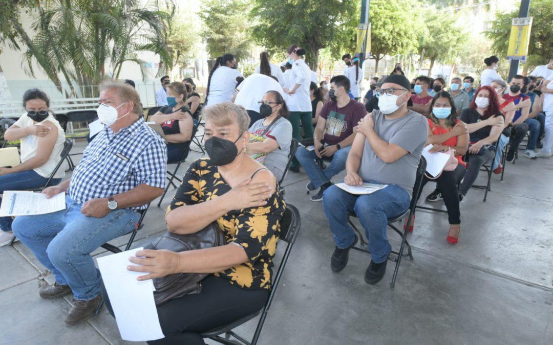 ¡Sinaloa lo logra! Personal educativo, vacunado contra el Covid-19