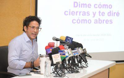 Sinaloa coincide con el Presidente Andrés Manuel López Obrador: el regreso a clases es por el convencimiento, nada por la fuerza