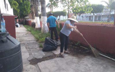 2 mil 850 escuelas de Sinaloa participan en el arranque de la jornada de limpieza