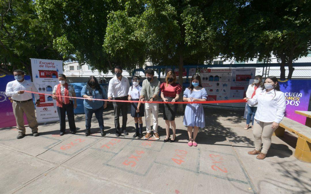 "Sinaloa se suma al proyecto ""Escuela de lluvia"""